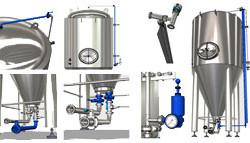 Produkt roku 2017 - modulární pivovarské tanky