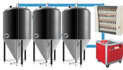 Sestavy s pivními tanky