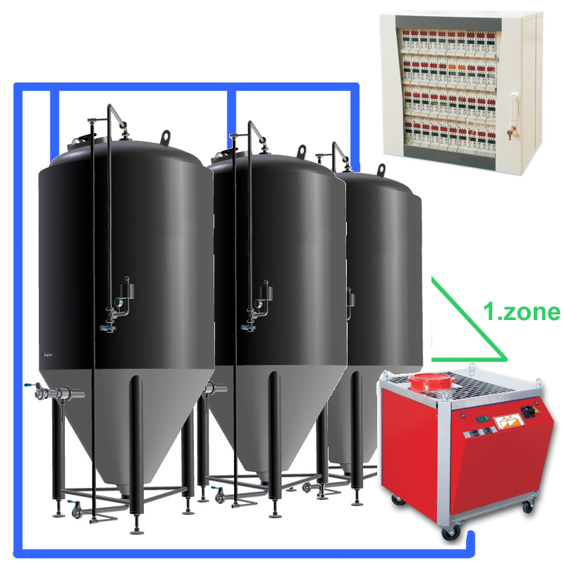 CBFSCC-1Z-03-Complete-beer-fermentation-sets-central-cabinet